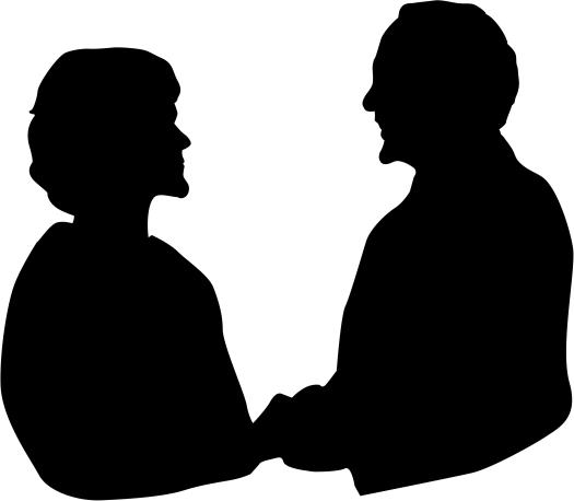 anniversary-couple-in-silhouette